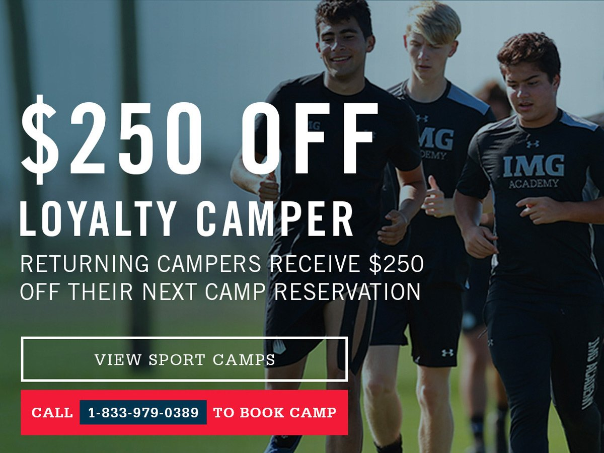 Returning Campers receive $100 off next year's camp reservation. Call 941-251-1172 to book camp