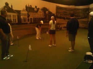 IMG Students at World golf Hall of Fame
