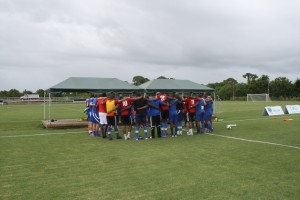The Antigua National Team Makes Its Final Preparations at IMG Academy