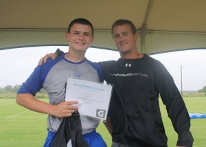 Dima Ballard, IMG Academy football program Football Player of the Week: May 18th - June 1st.