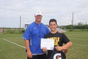 Bob Dunn wins the IMG Academy Athlete of the Week presented by Gatorade.