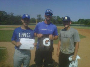 Jay and Josh with Coach Pete Paciorek