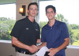 Adrian wins the IMG Academy Golf Athlete of the Week for June 11th - 15th.