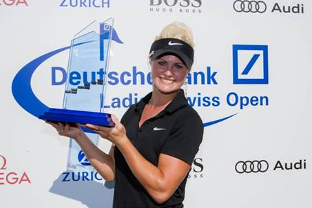 Carly Booth wins her second Ladies European Tour Title of the year.
