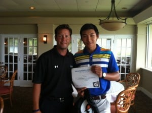 Aiden Yong wins the IMG Academy Athlete of the Week award presented by Gatorade.