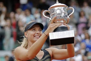 Former IMG Alum and Tennis Superstar Maria Sharapova