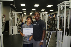 Manfredi Bizzarri wins Athletic & Personal Development program Athlete of the Week presented by Gatorade.