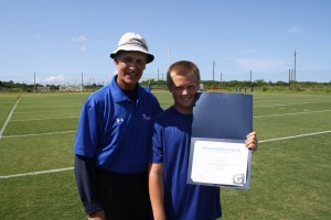 William Robinson wins the IMG Academy Football Athlete of the Week award presented by Gatorade.