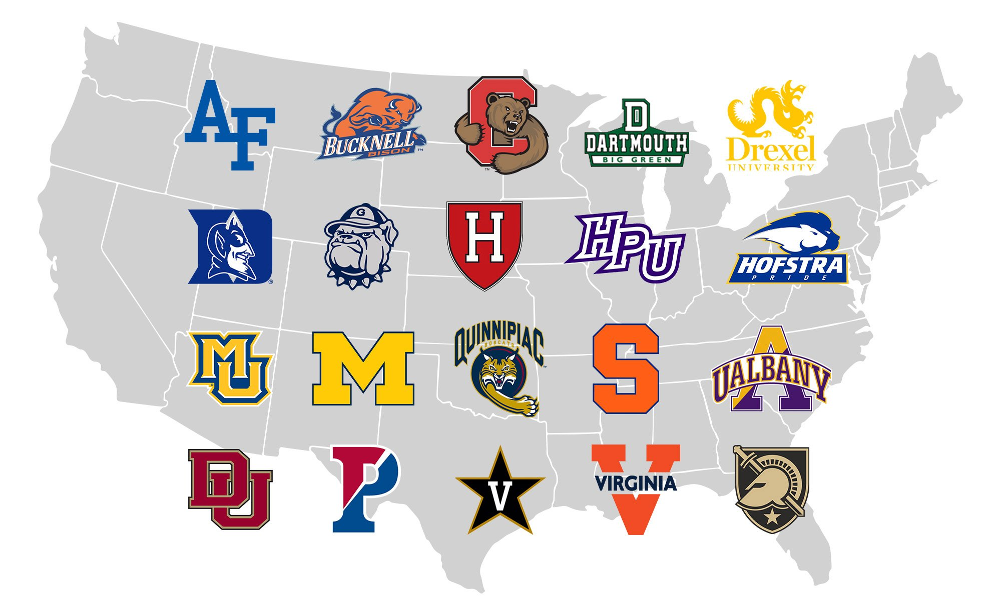 lacrosse matriculation map