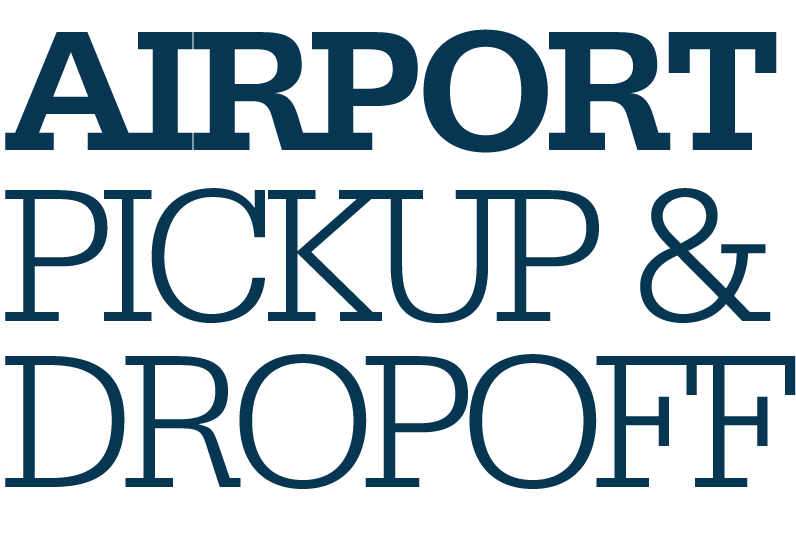 Airport pickup and dropoff