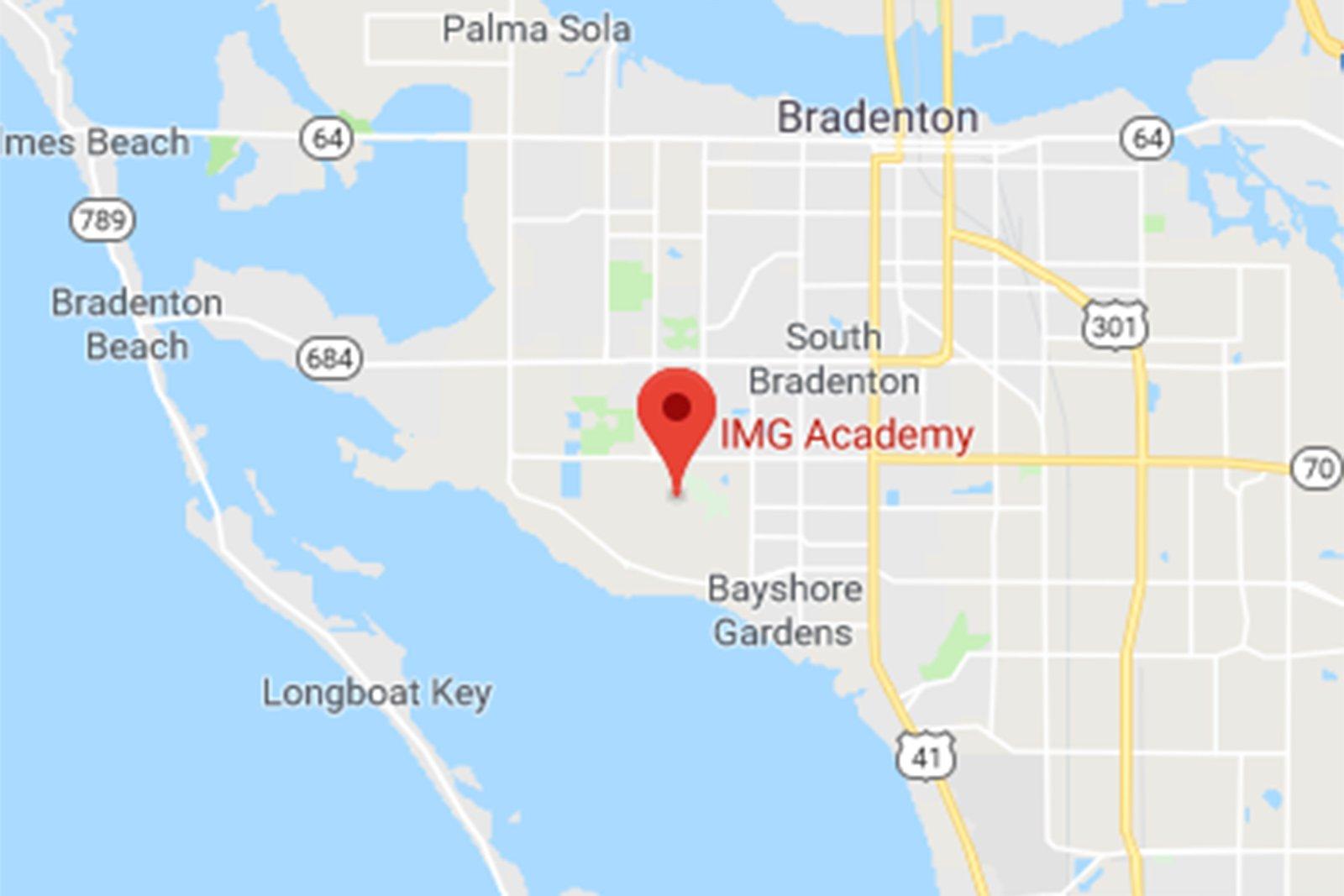 Bradenton Florida Map.Img Cup College Showcase Img Academy