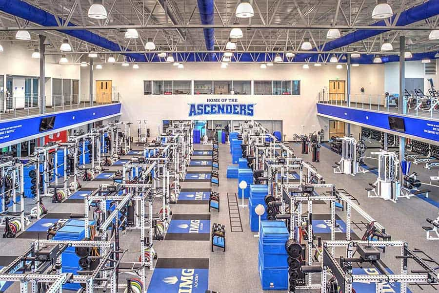 performance center weight room