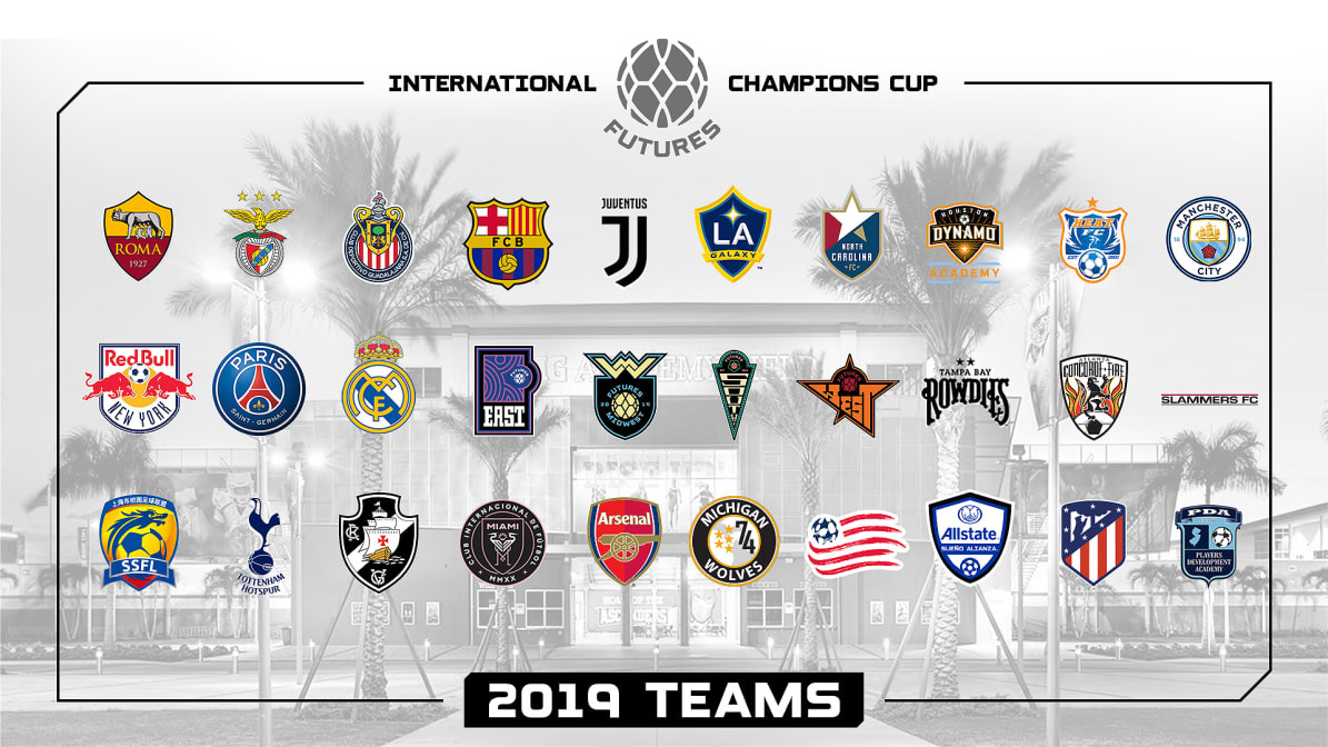 2019 International Champions Cup Futures Tournament   IMG Academy