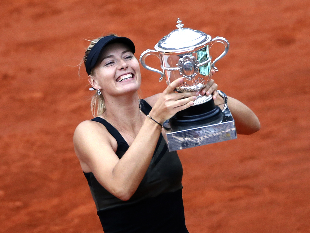 Sharapova, who has been training at IMG Academy since she was 9, completed the career Grand Slam with her victory over Sara Errani at Roland Garros