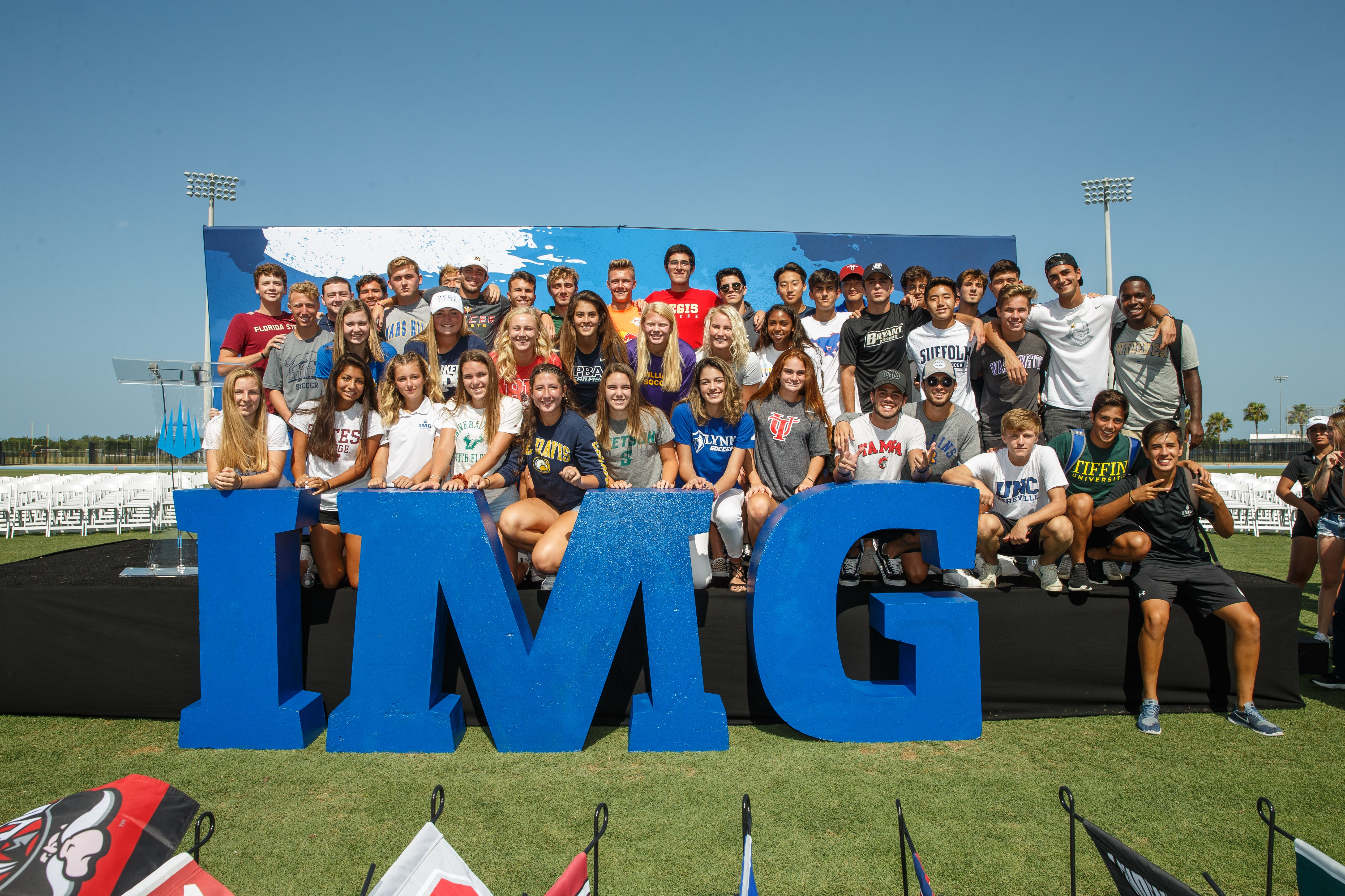 IMG College Commitment Ceremony