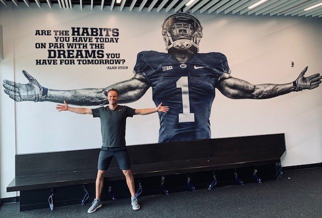 Alan Stein Jr. at Penn State | IMG Academy