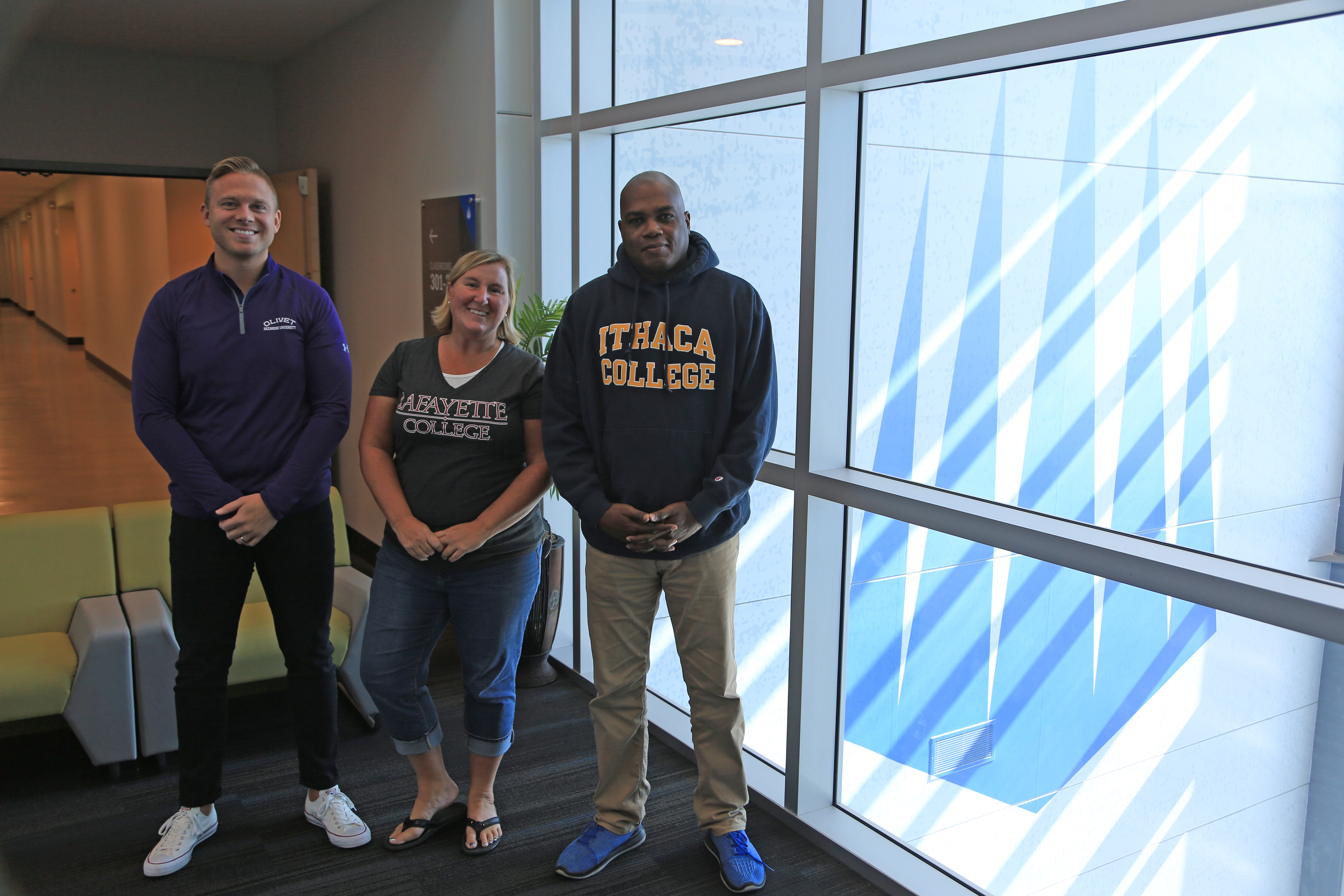 Heather Von Seggern, Wayne Walton & Jeff Deruiter are all College Advisors at IMG Academy