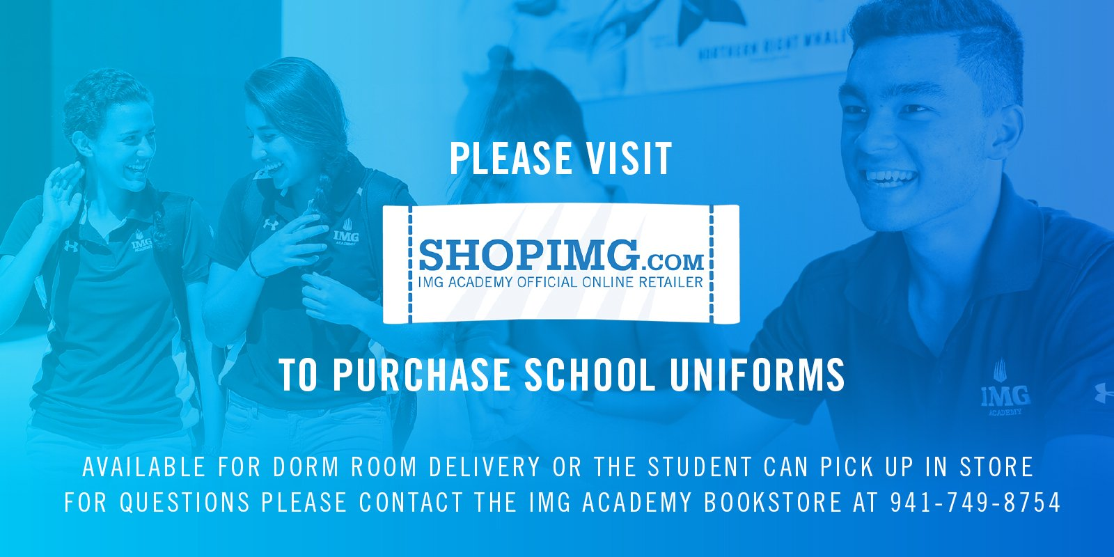 Visit ShopIMG to purchase school uniforms