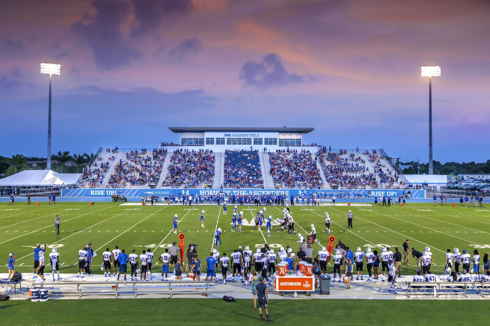Closing Out Img Academy S 2017 Football Season Img Academy