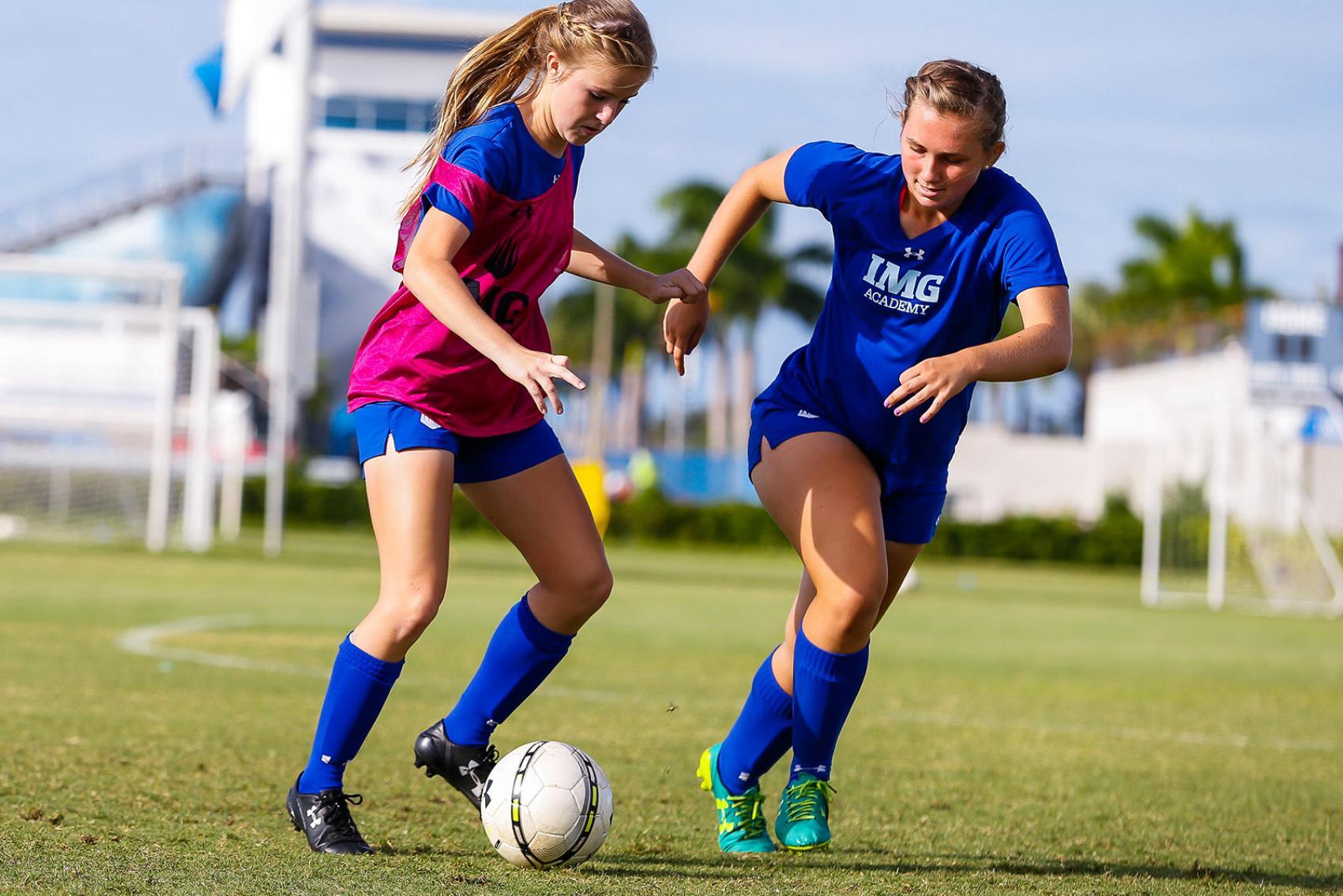 Girls Soccer Academy - Girls Soccer Program   IMG Academy 2019