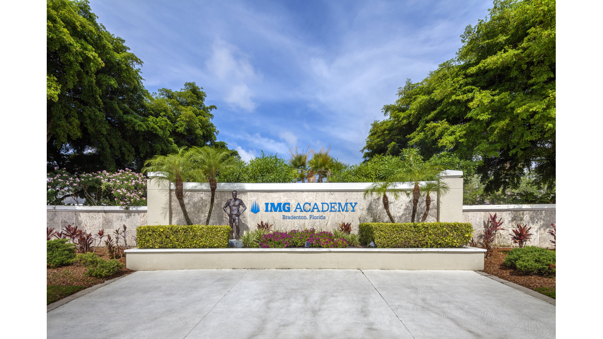 Entrance of IMG Academy East Campus