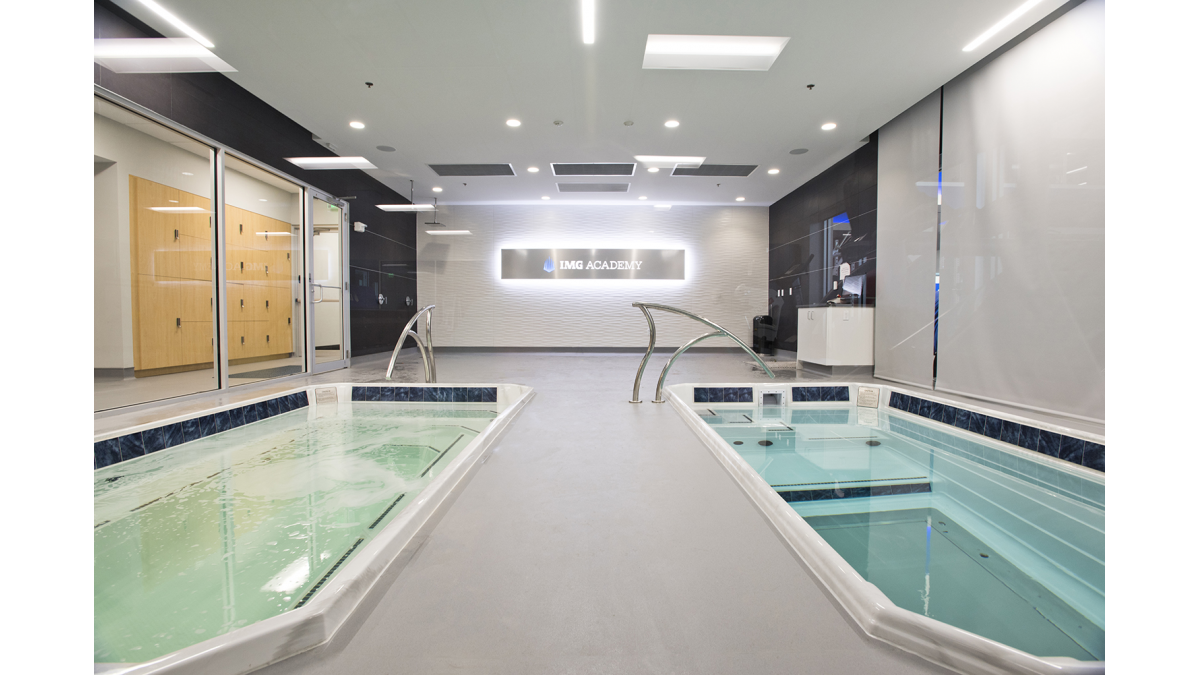 Performance and Sports Science Center Therapy Pools