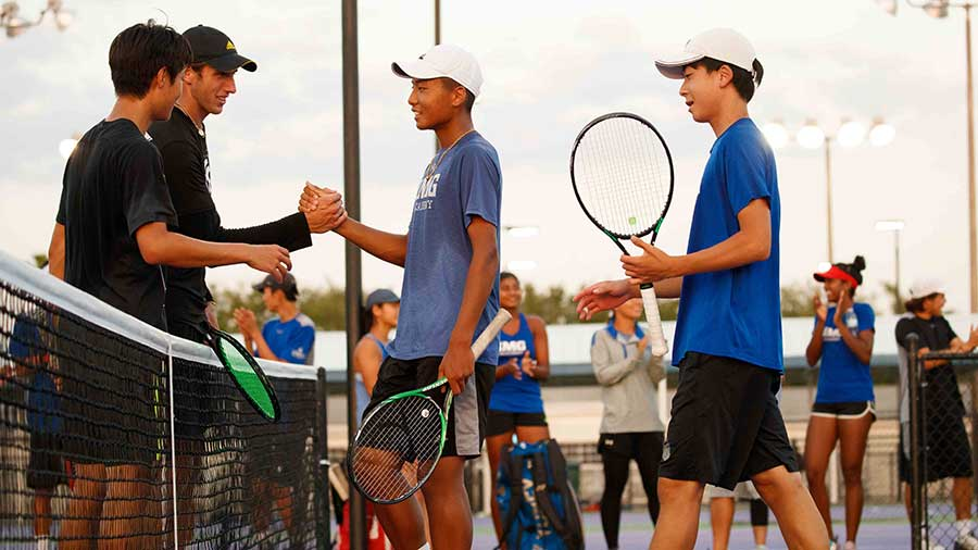 utr on-campus tennis tournaments